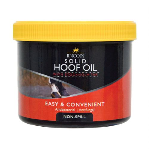 Lincoln  -Solid Hoof Oil - 400gm